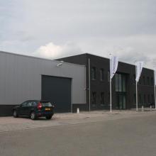 Kantoorgebouw op bedrijventerrein De Herven te 's-Hertogenbosch