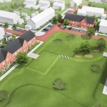 """12 huurwoningen in """"Hof van Gameren"""""""